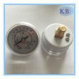 30ATM Medical Fluorescent Plastic Pressure Gauge Dia. 40mm