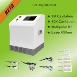 8 Inch Touch Screen 6 650nm Laser Slim Handle 5 Cavitation RF Head Face Lifting Equipment H-1000b