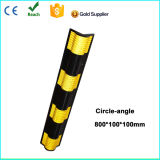 Flat Rubber Corner Guard with Reflector
