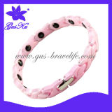 2014 Gus-Cmb-024 Hot Style Ceramic Charm Bracelets Jewelry with Negative Ion Health Care for Body