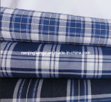 Cotton Yarn Dyed Twill Check Fabric (LZ6052)