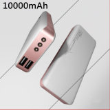 New Arrival Dual USB Portable Power Bank 10000mAh with LED