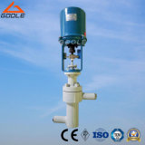 Electric Actuated Angle Type Unbalanced Labyrinth High Pressure Control Valve (ZDSJ)