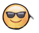 New Design Wholesale 3D Printing Emoji Custom Artwork Coin Purse