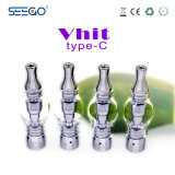 Hot-Selling 100% Seego Vhit Type-C Wax Vaporizer with Metal and Glass