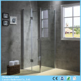 Cheap Price Pivot Hinged Shower Box with Tempered Glass (9-3380)