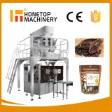 Candy Dumpling Frozen Food Grain Rice Salt Sugar Nuts Coffee Chips Snack Biscuit Beef Jerky Popcorn Dates Pouch Packaging Machine Bag Pouch Packing Machine
