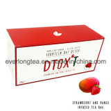 Customized Brand Dtox′t 14 Day Weight Loss Detox Tea Strawberry and Mango Infusion
