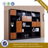 Glass Wooden Door Alumnium Bookshelf Storage Bookcase Filing Cabinet (UL-MFC204)