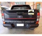 Black Rear Tailgate Cover Facelift Ford Ranger 2015+
