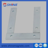 High Magnetic Force NdFeB Magnet Block with Double Hole