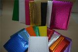 Electroplating Aluminum Composite Bubble Bags / Color Plastic Bubble Envelope