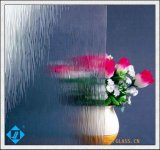 3mm Clear Nashiji Diamond Karatachi Flora Patterned Glass