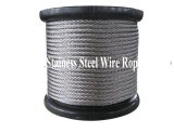 6.0mm 7x19 AISI 316 Stainless Steel Strand Wire Rope and Cables