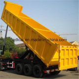 Lufeng 3 Axles Side Tipper Tractor Truck with Dump Trailer for Sale