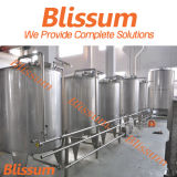 Blending Mixing Tank for Carbonated Drink and Juice Filling Line