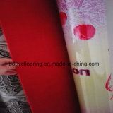 Iraq Market Red Backing PVC Flooring Plastic Carpet Roll 0.7mm
