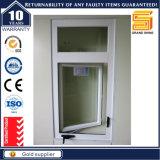 Aluminum Frame Double Glazed Tempered Glass Casement Window