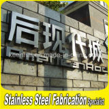 Customed Outdoor Advertising Stainless Steel Channel Letter Signs