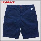 Simple Men′s Cotton Shorts in Dark Color