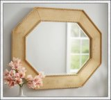 Silver Mirror with Frame Polished Edges