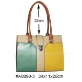 Fashion PU Ladies Handbag / Lady Bag (A0898-2/3/4)