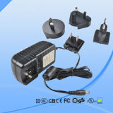 High Quality & Best Price! 5V 2A Interchangeable Plug AC/DC Power Adapter