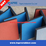 Square Recycled Interlock Rubber Tiles Horse Product