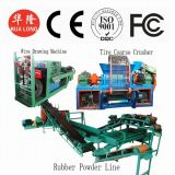 Rubber Powder Production Line/ Waste Tire Recycle Equipment