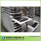 5mm Tempered Low Iron Glass Panel for Cabinet