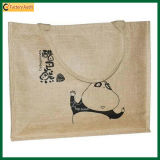 2016 Promotional Natural Grocery Tote Jute Bag (TP-SP531)