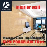 400X800X5.5mm Thickness Polished Porcelain Slim Wall Tiles for Interior and Exterior
