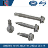 Hexagon Head Self Drilling Tapping Screw with Flange