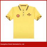 Customized White 100% Cotton Heavy Weight Polo Shirt (P173)