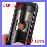 USB Lighter with a LED Torch
