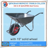 Solid Wheel Rib Tire Wheel Barrow