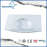 Newzealand Popular Artificial Stone Washbasin Polymarble Basin