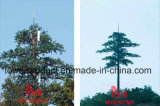 Camouflage Tree Antenna Cover and Supports for Telecom