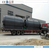 Batch Type Tire Waste Recycling Equipment Getting Pyrolysis Oil 10tpd