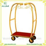 Hotel Luxury Stainless Steel Luggage Cart Trolley