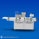 Syrup filling and capping machine