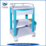 ABS Plastic Medical Hospital Products Nursing Clinical Cart