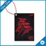 Black Card Hang Tag for Garment/Clothing/Shoes