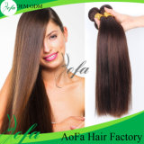 New Hair Product Brown Color Human Natural Mongolian Remy Hair