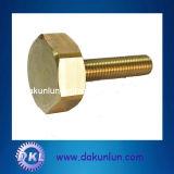 M12 Handle Pivot Hex Head Custom Brass Machine Screw (DKL-S003)