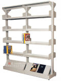 Simple and Strong Metal Bookshelf, School Library Metal Bookshelf (DG-18)