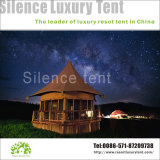Luxury Resort Tent Permanent Accommodation Water Proof Wind Resistance