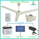 High Speed and Strong Cfm Solar Powered DC 12V Ceiling Fan