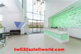 2017 High Quality Front Desk with LED Light