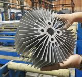 Customized 6063 6061 Mill Finish/Anodizing etc Aluminium Extruded Complex Heatsink